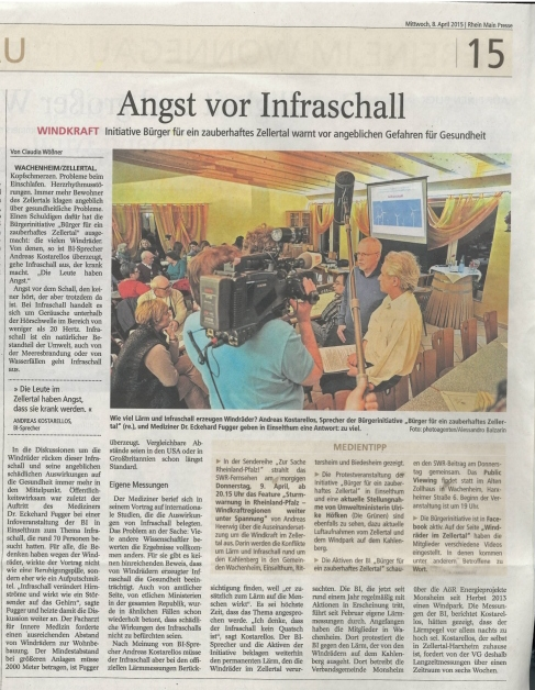 Inraschall-Veranstaltung